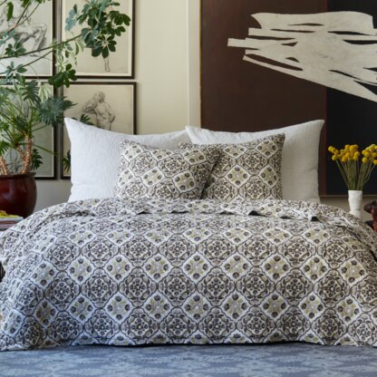Luxury 100 Cotton Percale Quilts Coverlets Sets Perigold