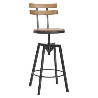 Superb Sylvania Adjustable Height Swivel Bar Stool Reviews Gamerscity Chair Design For Home Gamerscityorg