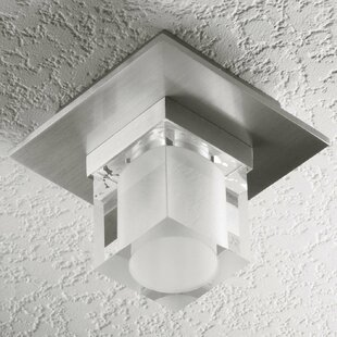 Alume 1-Light Semi Flush Mount by LumenArt