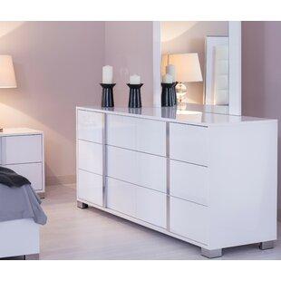 Affordable Granberry 6 Drawer Double Dresser by Orren Ellis