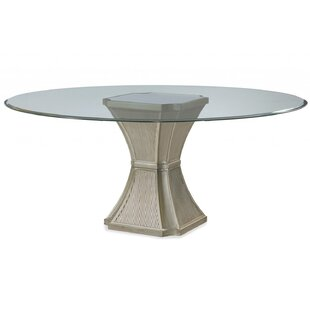 Piazza Modern Dining Table by House of Hampton Today Only Sale