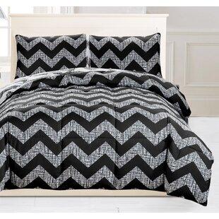 Cavalier Wyatt Down Alternative Reversible Comforter Set