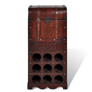 9 Bottle Wine Rack By Williston Forge