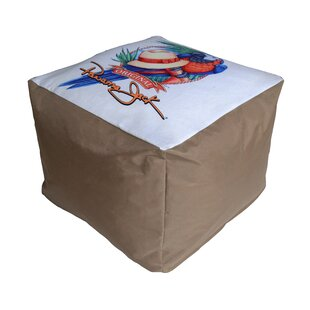 Parrot Pouf Ottoman by Panama Jack Outdoor