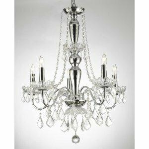 Plug in swag chandelier wayfair holton mini swag 5 light chandelier aloadofball Images