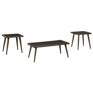 Metcalfe 3 Piece Coffee Table Set by Wrought Studio