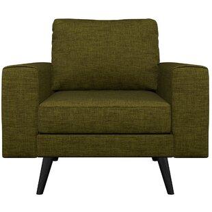 Binns Oxford Weave Armchair by Corrigan Studio