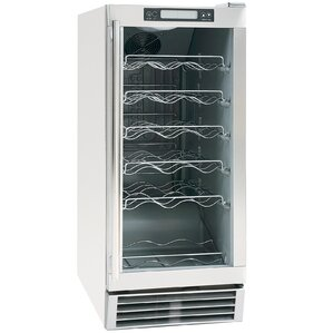 28 Bottle Single Zone Freestanding Wine Cooler by Maxx Ice