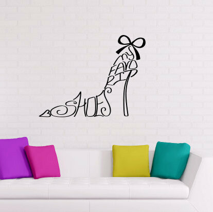 Rosdorf Park Hamlin My Favorite Shoes Wall Decal Wayfair