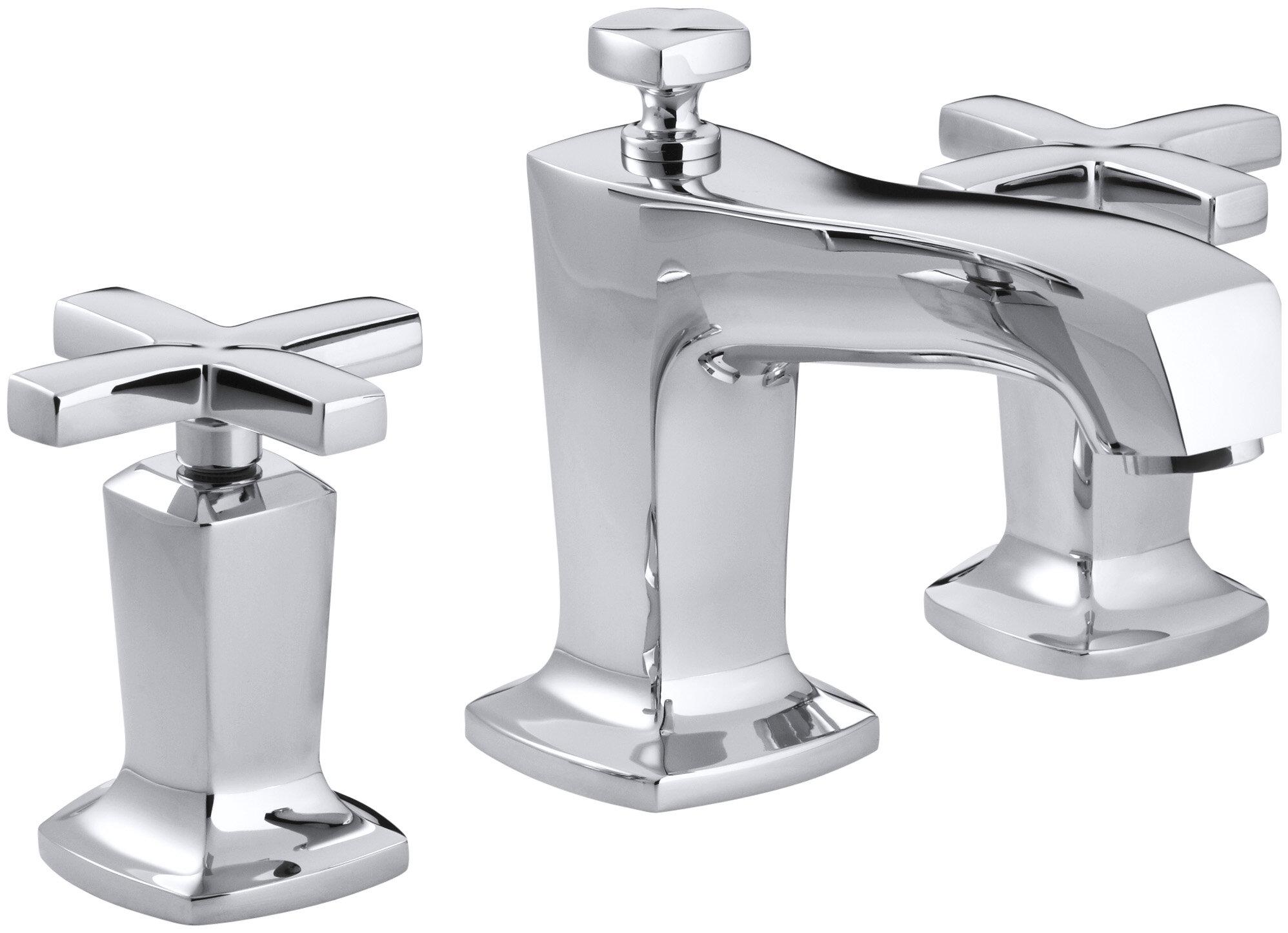 K-16232-3-AF,BN,BV Kohler Margaux Widespread Bathroom Sink Faucet ...