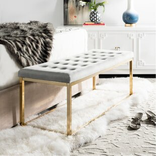 Hayse Upholstered Bench by Mer..