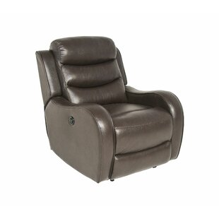 DuJuan Leather Power Recliner by Latitude Run Spacial Price