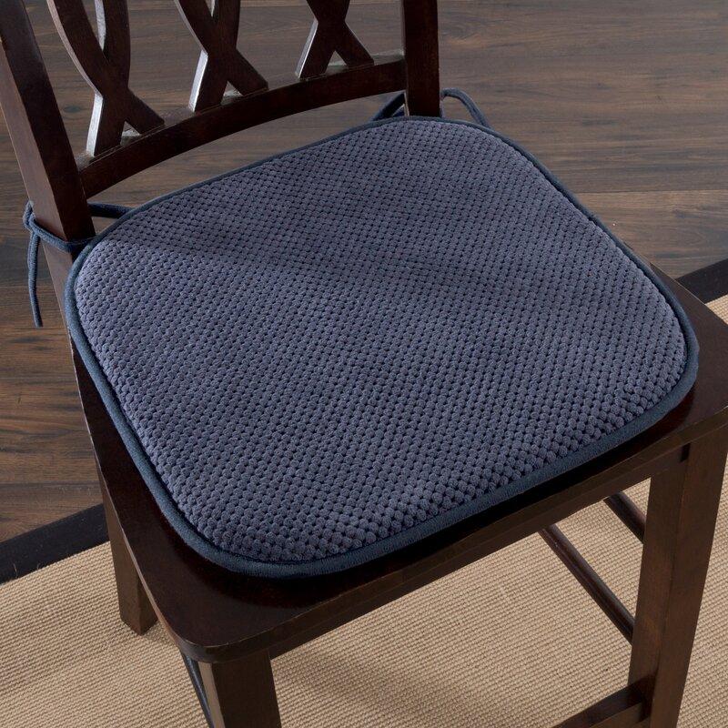 Lavish Home Memory Foam Pad Dining Chair Cushion Reviews