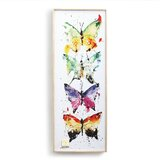 Butterfly Framed Wall Art Free Shipping Over 35 Wayfair