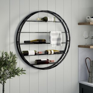 Noella Wall Mounted Wine Rack by Gracie O..
