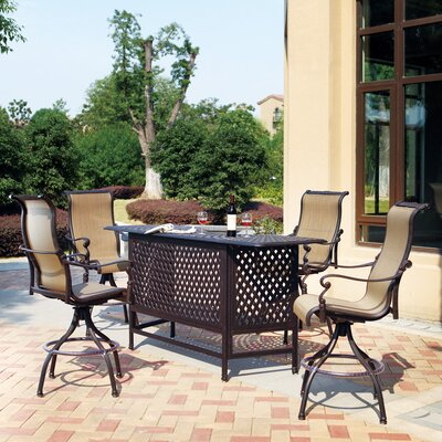 Bagwell 5 Piece Bar Set by Darby Home Co Today Only Sale
