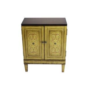 Cepeda 2 Door Accent Cabinet by Fleur De Lis Living