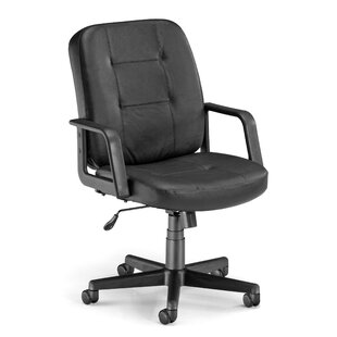 OFM Mid-Back Leather Desk Chair