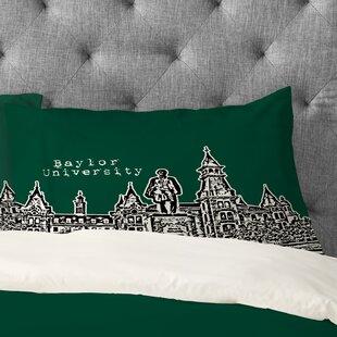 Bird Ave Baylor University Pillowcase