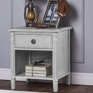 Evolur Julienne 1 Drawer Nightstand