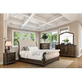 Vincenzo Queen Sleigh 4 Piece Bedroom Set by Astoria Grand
