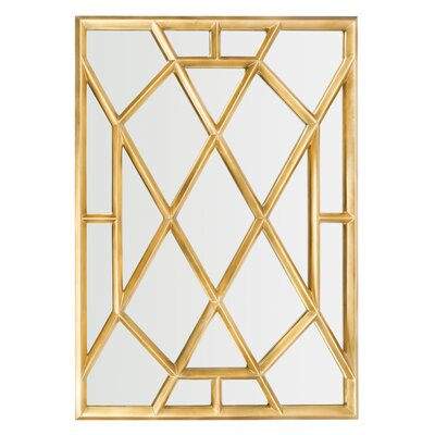 Willa Arlo Interiors Metal Wall Mirror & Reviews | Wayfair