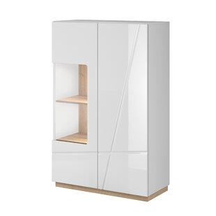 Venatici Display 2 Door Modern Accent Cabinet by Orren Ellis
