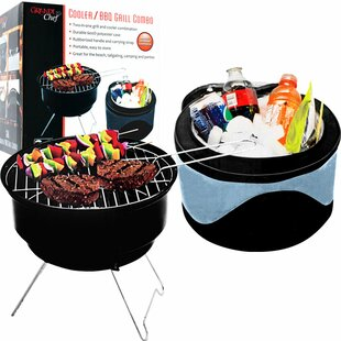 Chef Buddy 2 Piece Portable Grill and Cooler Set