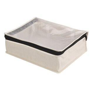 Cedarline Zippered Sweater Fabric Underbed Storage (Set of 2) By Household Essentials