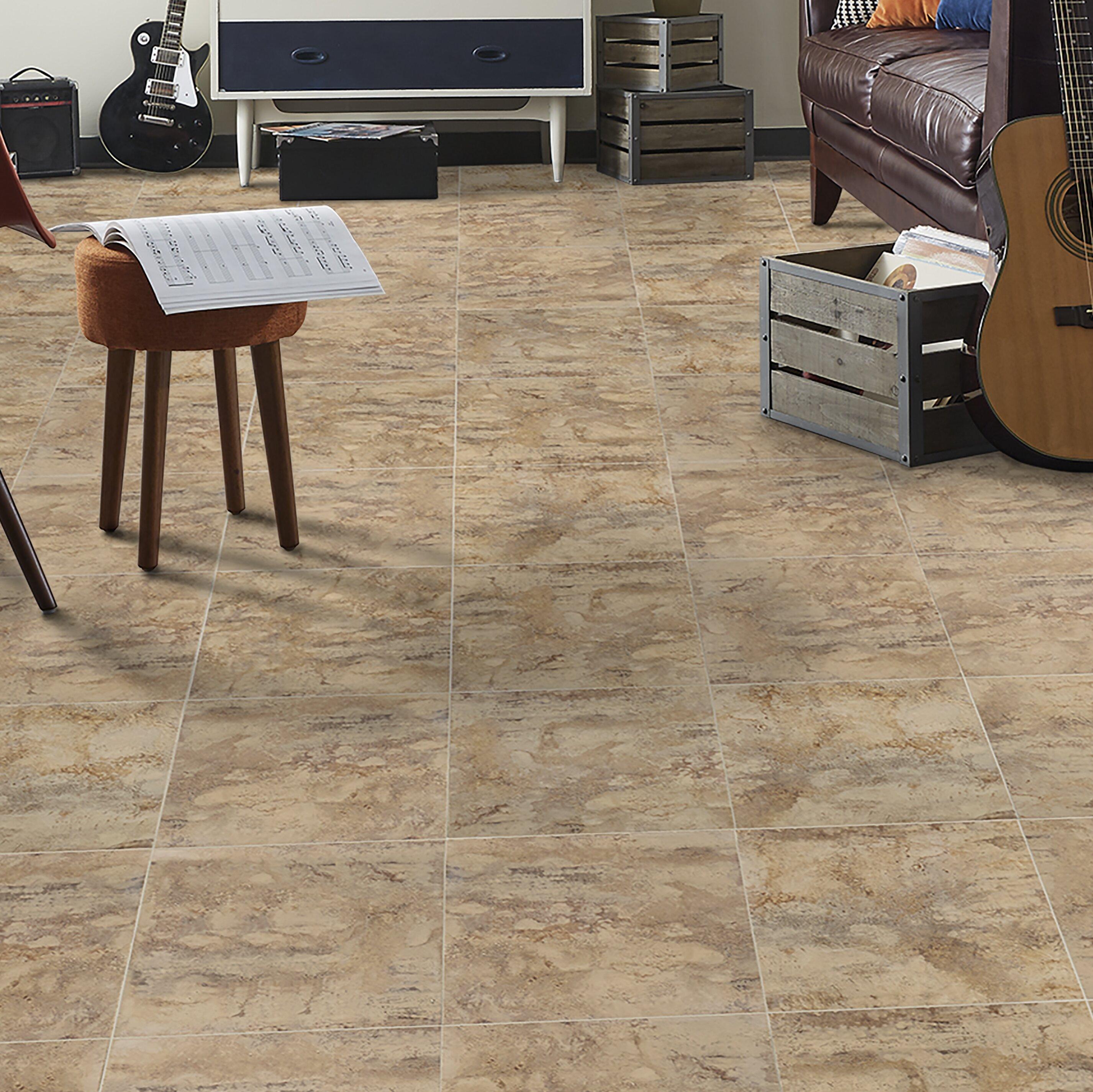 Mannington adura flex manhattan 18 x 18 x 2 5mm luxury vinyl tile wayfair