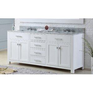 white double sink bathroom vanity. Andover Mills Double Vanities You ll Love  Wayfair