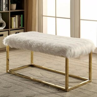 Kellett Shaggy Metal Bench by Mercer41