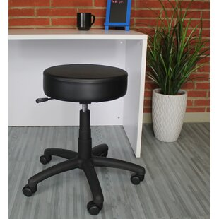 Diahna Height Adjustable Lab Stool With Caster by Ebern Designs Discount