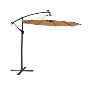 Horsley 2.7m Cantilever Parasol With Lights By Sol 72 Outdoor