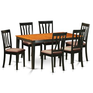 7 Piece Extendable Dining Set
