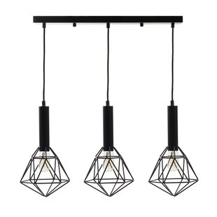 Wrought Studio Dickenson 3-Light Kitchen Island Pendant
