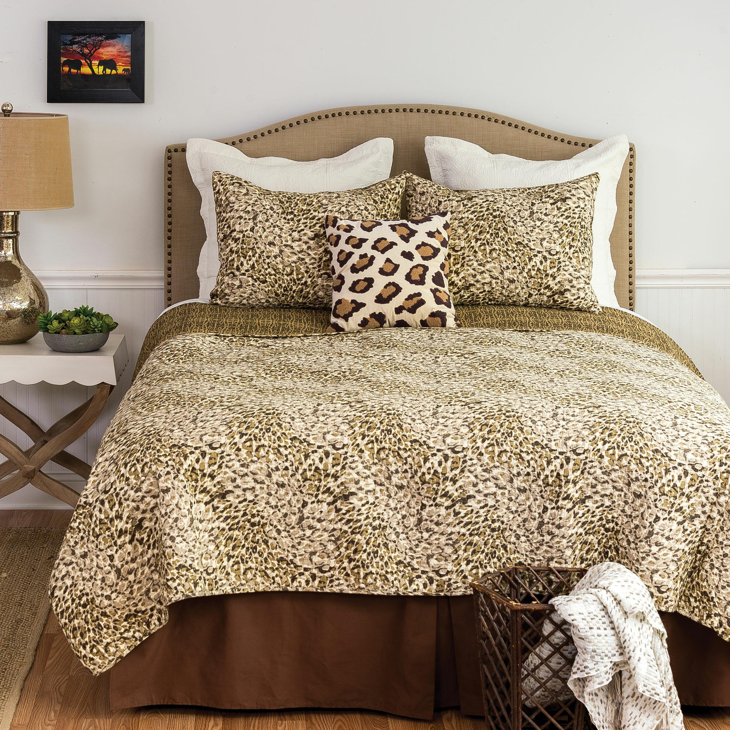 World Menagerie Longoria Cotton Reversible Quilt Set Wayfair