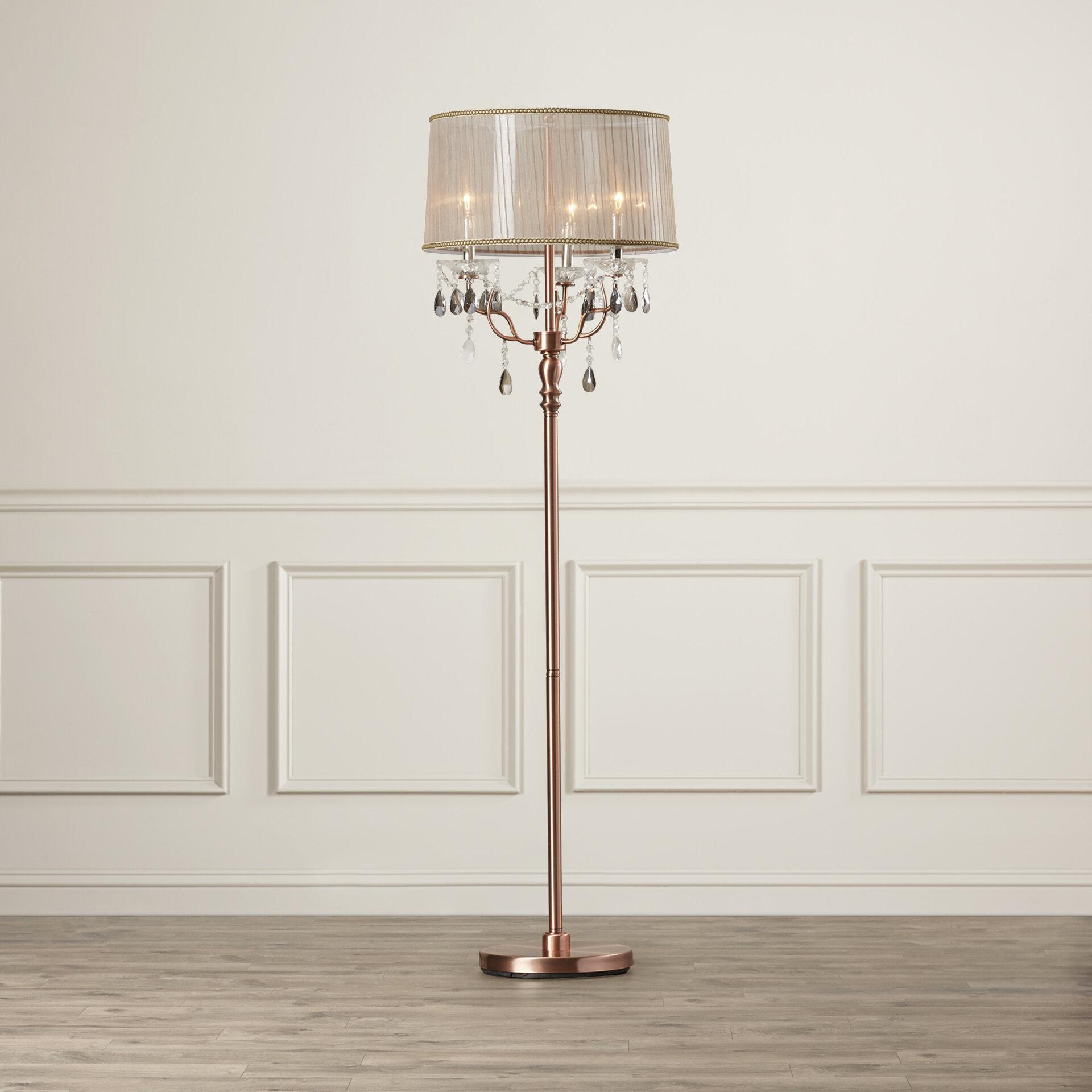 Willa Arlo Interiors Letizia 62 Candelabra Floor Lamp Reviews Wayfair