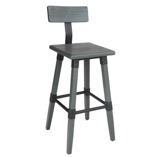 Alpen Home Grey Seat Bar Stools