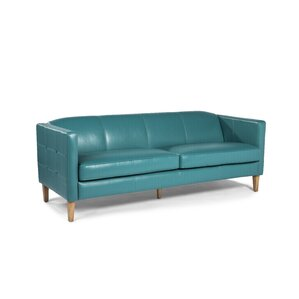 Miami Leather Sofa by Lazzaro Leather
