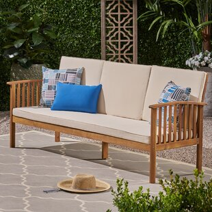 Denice Patio Sofa with Cushions