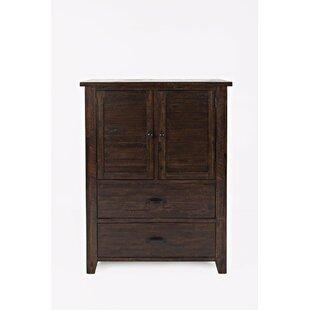 Loon Peak Redden 2 Drawer Combo Dresser