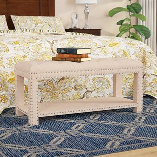 Selena Upholstered Storage Bench by Charlton Home Fresh