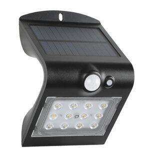 Winsome House Solar 1 Light LED Rail Light