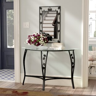 Carswell Console Table and Mirror Set