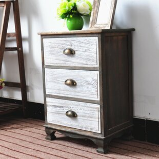 Villalta 3 Drawer Nightstand