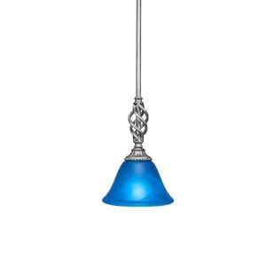 Compare prices Pierro 1-Light Mini Pendant By Astoria Grand