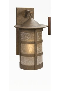 Order San Carlos Pasadena Extra Large Hanging 1-Light Outdoor Wall Lantern By Steel Partners