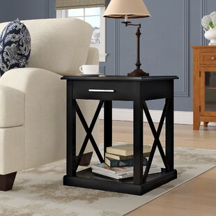 Stronghurst End Table With Storage