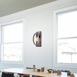 Reviews Hollingsworth 1-Light Armed Sconce By Gracie Oaks